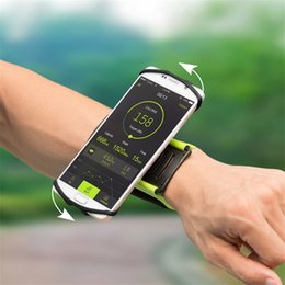 Wholesale Hand Bags For Men - 2017 High End 360 Rotation Wrist pack Arm Band Running Riding Women Men`s Armband Phone Case Sport Hand Bags for iphone 6S Plus