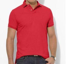 Wholesale Mix T Shirts - PLus size S~5XL Sales Golf polo Men's T-shirt multi color slim polo shirt lapel short-sleeve Tees mix order