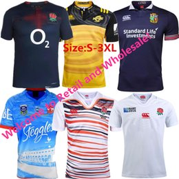 Wholesale Rugby Team Jerseys - New Zealand 2017 England national team home and away rugby Jerseys 1718 Australian rooster championship board rugby Jerseys Free shipping
