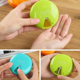 Wholesale Box Dispenser - Travel Pill Box Organizer Tablet Medicine Storage boxes Dispenser Medicine Tablet Holder Health Care Tool Creative design