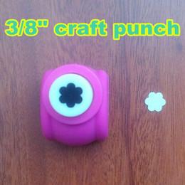 "Wholesale Craft Flower Punches - Wholesale- MIN ORDER$5, 3 8"" flower punch DIY craft scrapbooking hobby decoration cutter"