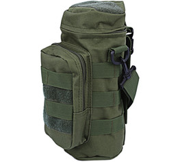 Wholesale Molle Bottle - 2016 Climbing Bag Molle 600D Oxford Water Bottle Pouch Military Pack Water-repellent Outdoor Bag Utility 7 Colors