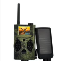 Canada HC-300M Caméra de chasse Trail Trap MMS SMS GSM GPRS 12MP HD Camouflage sauvage Caméras Vedio avec 36 LEDs IR Offre