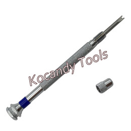 Wholesale Screw Strap - Wholesale-Watch Screwdriver for H screw Watch Bezel Band Strap Repair Tool- double headed blade