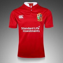 Wholesale Irish Rugby Shirt - HOT NRL JERSEYS Brand New British And Irish Lions Rugby Shirt