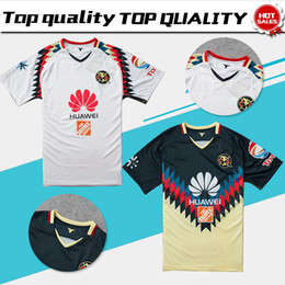 Wholesale Football Mexico - New 2018 Futbol America home Soccer Jersey 2017 Mexico Culb Football Shirt Futbol America away Thai Quality Jerseys 17 18