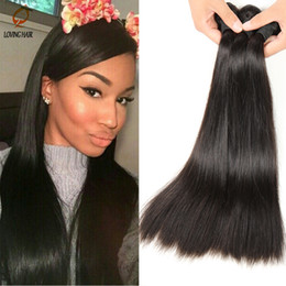 Wholesale Grade 5a Straight Unprocessed Hair - Wholesale-Peruvian Virgin Hair Straight Mixed 3 bundles 100% Human Hair Extensions Grade 5A Unprocessed Virgin Remy Hair