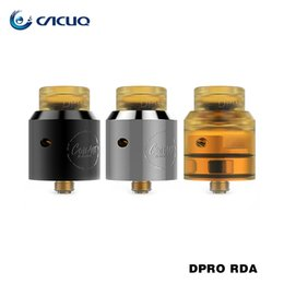 Wholesale Metal Desks - Coilart DPRO RDA Fused Clapton Coil NI80 24k Golden Plated BF Pin fit Single Dual Coil Build Desk 100% Original