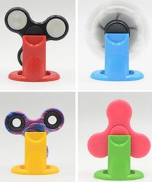 Wholesale Hand Display Holder - New Arrival Fidget Spinner Bracket Creative EDC Desktop Toy Accessories Display Stands Hand Spinner Holder Plastic Gyroscope Stents
