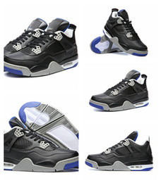 Wholesale Games Money - 2018 Traderjoes With Box 4 IV Mens Basketball Shoes Sneakers Men Bred Royal Game Pure Money Royalty Sport Sneakers Shoes Free Shipping