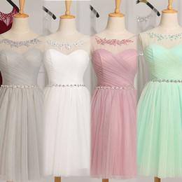 Wholesale Tailored Made Lace Dress - Robe de soiree 2017 sleeveless evening dress vestito da sera vestido de festa prom dresses party dresses tailor Custom made