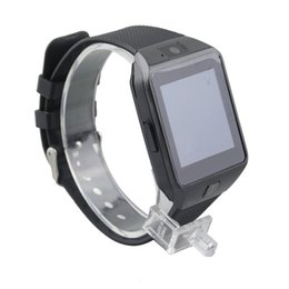 Wholesale Camera Phone Watches - DZ09 smartwatch android GT08 U8 A1 samsung smart watchs iwatch apple SIM Intelligent mobile phone watch can record the sleep state Smart
