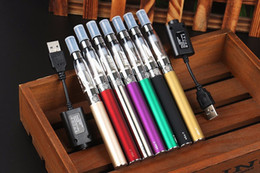 Wholesale Ego Usb Battery Kit - Ego-t Ce4 Blister single kits e cig 650mah 900mah 1100mah Ego battery USB Charger Ce4 atomizer Cheap EVOD MT3 E cigarette Vaporizer