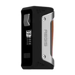 Wholesale Max Prices - 100W GeekVape Aegis TC Box MOD power by single 18650 26650 battery 100W GeekVape Aegis Retail Price Max 4200mah