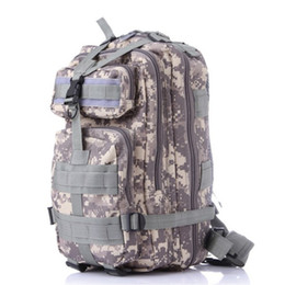Wholesale Acu Army Backpack - suutoop Men Women Military Army Backpack Trekking Camouflage rucksacks sac a dos casual ACU Green Black rugzak german french bag