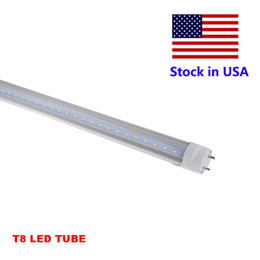 Wholesale bulb neon - Fluorescent Light Neon Light 4 ft T8 LED Bulb 4ft 4Feet T8 LED Light SMD 2835 Bulbs Lamp AC85-265V