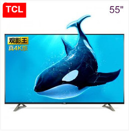 Wholesale Product Free Tv - TCL 55 inch viewing king 4K ultra-high-definition version of Andrews built-in WIFI smart TV popular products free shipping