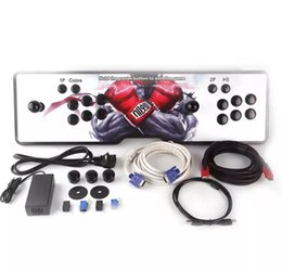 Wholesale Vga Program - New design,American joystick,The new Pandora box 4S arcade consoles ,680 programs,HDMI VGA out, connected to computer,Add pause and exit.