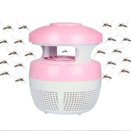 Wholesale Electronic Insect Lamp - LED mosquito lamp insect-repelling lamp Electronic mosquito killer No radiation good for baby Pregnant woman Mosquito trap DHL free USZ109