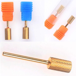 Wholesale Electric Netting - SET OF 3PCS Dimensions 3Size (L+M+S) Electric Cylinder Nail Manicure Pedicure Drill File Tool kit Net