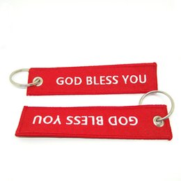 Wholesale Remove Before Flight Keychain - Hot Sale New Arrive Promotion 3pcs Remove Luggage Tag Label God Bless You Before Flight Keychain