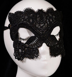 Wholesale Halloween Catwoman Mask - Hot selling models, handmade lace eye mask sexy Catwoman party, wholesale 5002 jewelry mask,theme party mask,,Half Mask For Women party Mask