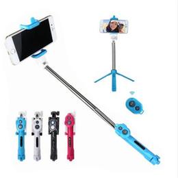 En sıcak Özçekim sopa + Tripodlar + bluetooth zamanlayıcı selfie monopod Uzatılabilir Öz Portre Özçekim El Sopa uzaktan deklanşör nereden self portre selfie el çubuğu tedarikçiler