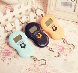 Wholesale Electronic Weigh Fishing - 40kg 10g Portable gourd Electronic Digital Hanging Scale Fishing Fish Hook Pocket Weighing Balance Scale with led light Kitchen Tools