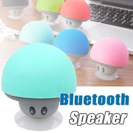 Wholesale Desktop 16gb - Cartoon Mushroom Head Bluetooth Speaker Wireless Best Bluetooth Creative Portable Desktop Super-Meng Mobile Phone Bracket Mini Speakers