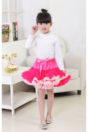 Wholesale Best Toddler Clothes - Floral Silk Baby Girl Clothes Best Tutu Skirt Toddler Dress Kids Party Graduation Wear Wedding Gown
