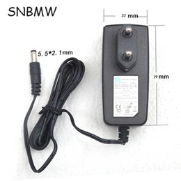 Wholesale Plug Power Monitor - Wholesale- EU Plug Good Qulity 5V 1A 100-240V 50-60HZ Input Power AC Adapter Power Charger For Router Tablet PC Monitor DC 5.5*2.1MM