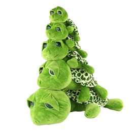 Wholesale Cute Turtle Plush - Dropshipping Multi Sized Big Eyes Turtle Tortoise Doll Baby Toy Cute Plush Toys Birthday Gifts for Kids
