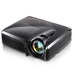 Wholesale Dlp 3d Short Throw Projector - Wholesale-ATCO Short throw Daylight Portable Education Overhead DLP Projector 5500lumens HDMI Full HD 1080p Shuter 3D Video projectors