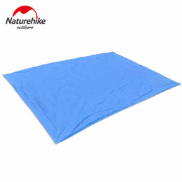 Wholesale Inflatable Tents For Camping - Wholesale-NatureHike Person Moisture Thick Oxford Groundsheet Footprint Picnic Rug Camping Pad Mat For Fitness Tarp Beach Tent