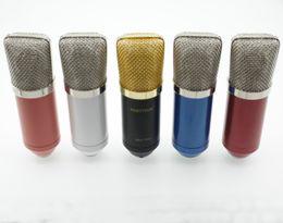 Argentina Micrófonos profesionales para estudio de grabación BM700 Micrófono de condensador para música de computadora Crear Microfone Condensador PC Mic Mike cheap mic condenser pc Suministro
