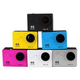 Mini Esporte Ação Câmera de 2.0 polegadas Ultra HD 4K 12MP WiFi Remoto 30 M À Prova D 'Água Camcorder para IOS e Android de