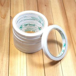 Wholesale Double Sided Tapes Wholesale - Double Sided Tape Office and School Stationery Adhesive Tape Packing Tape Width 0.8 cm, 9.5m Length