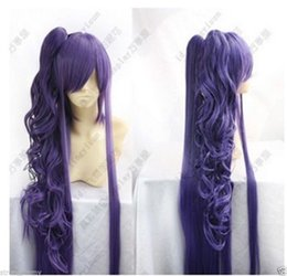 Wholesale Miku Wigs - Wholesale free shipping >>Vocaloid Gackpoid Miku Gakupo Dark Purple Cosplay Wig W002 018A