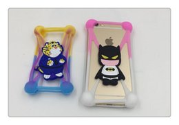 Wholesale Universal Mobile Cartoon Cases - New Universal Soft Silicone Bumper Case For 3.5-5.8 inch All Cell Phone Cartoon Case Apple Series Raindrops Mobile Factory Price