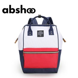 Wholesale Plain White Gold Ring - Wholesale- School Backpacks For Teenage Girls Cute Girl School Backpack For School College Bag For Women Lightweight Ring Backpack