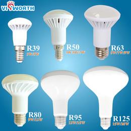 Wholesale White Globe Lamp E27 6w - NEW R39 R50 R63 R80 led light E14 E27 led lamp 3W 5W 7W 9W ac 220v 230v 12W 15W 20W R80 R95 R125 led bulbs warm cold white light