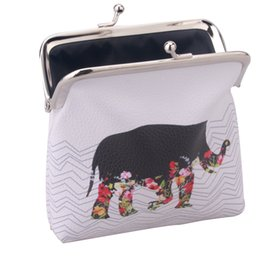 Wholesale Purses China - Wholesale- Mini Wallets for Womens Owl Elephant Pattern Cartoon Female Wallet Card Holder Coin Purse China wallet ladies purse RD838564