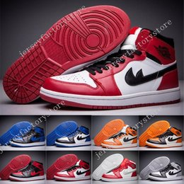 """Wholesale Nylon Picks - 2017 New Retro 1 High OG """"Top 3"""" Pick Mens Basketball Shoes Quality AAA 555088-026 Athletic Sports Sneakers running shoes for men US 7-13"""