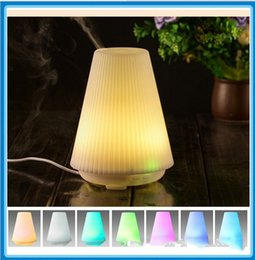 Wholesale Usa Source - USA Hot Sale 100ML 1LOT 24PCS Ultrasonic Humidifier Essential Oil Aroma Diffuser Auto Stop Time setting Mist Aromatherapy Maker Air Purifier