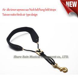 Wholesale Alto Neck Strap - wholesale Air music alto tenor soprano sax Neck belt hang belt straps Taiwan native birds air type design