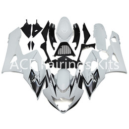 Wholesale K4 Fairings - 3 free gifts New Suzuki GSXR600 GSXR750 K4 K5 04 05 2004 2005 Injection ABS Plastic Motorcycle Fairing beautiful white style