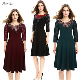 Wholesale Eveninig Dresses - Fashion Lace decorative dress large skirt Sexy Women Bodycon Casual Dress Lace Eveninig Cocktail Off Shoulder - Free Shipping + Free Gift