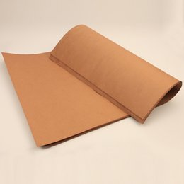 Wholesale Parchment Printing Paper - 150-500g thicken craft paper custom brown Clothes pattern two-sided card paper durable wood pulp 787*1092mm Free cutting custom