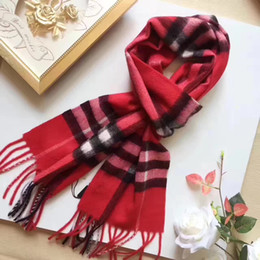 Wholesale Wrap Ring Animal - 2017 wholesale High quality scarfs designer shawl 32 * 180cm classic European style brand scarf Multiple colors