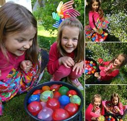 Wholesale Kids Balloons Wholesale - Water Filled Balloon of Balloons Amazing Kid Magic Water Balloon Bombs Toys Filling Water Ballons Games Kids Decoration Party Free Shipment